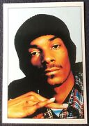 1995 Panini Smash Hits Snoop Dogg Rookie Card 123 In The Set Hard To Find