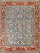 Geometric Traditional Oriental Area Rug Hand-knotted Wool 8x10 Carpet Home Decor