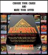 Choose Your Cards Illuminati New World Order Limited Unlimited Assassins Inwo