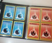 1999 Wizards Of The Coast Pokemon Trading Card Game Collectors Album And 100 Cards