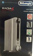 New - Radia S Eco Digital Programmable Portable Heater With Timer - Trrs0715e