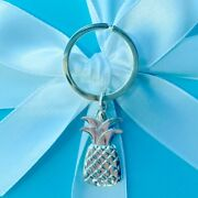 And Co. Pineapple Keychain Rare/retired Sterling Silver