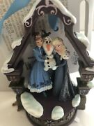 Disney Sketchbook Ornament.. Olaf And Singing Elsa And Anna...new In Box