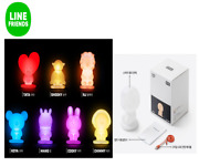 Bts Bt21 Line Friends Smart Mood Lamp Light With Free Gifts - Topazi