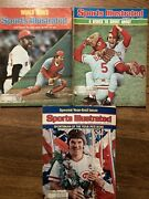 Sports Illustrated Johnny Bench Pete Rose Reds Lot Of 3