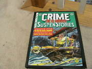 Ec Archives Tales From The Crypt Volume 1, Crime Suspenstories Super Rare Cover