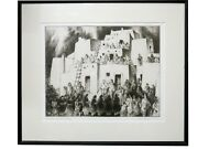 Gene Kloss - Corn Dancers Coming - Dry Point Etching Artistand039s Proof 1975