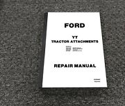 Ford 09gn-3665 Snow Thrower 36 Inch Yt Tractor Attachment Service Repair Manual
