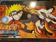 Untouchables Tin Case - 12 Tins - With Display - Extremely Rare - Naruto Ccg Car