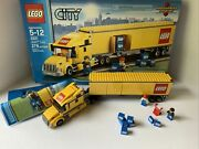 Lego- City- Lego Truck- 3221- 99 Complete- W/ Box- Missing One Small Package