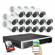Annke 32ch 12mp Nvr Poe 4k Video 8mp Ip Security Camera System Ip67 Home H.265+