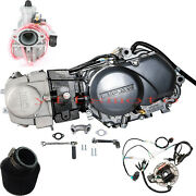 Lifan 125cc Motor Engine+wire Harness+carby+airfilter Xr50 Crf50 Xr70 Crf70 Ct70