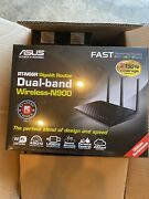 Asus Rt-n66r Gigabit Router Dual-band Wireless-n900 Brand New