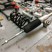 70-81 Camaro Mustang Ii Coilover Ifs Stock Height 5x4.75 Power Rack Disc Brakes
