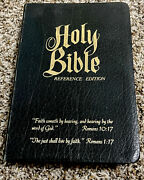 Roloff Holy Bible, Kjv, Giant Print, Nelson, Altar, Clear Word References, 1976