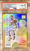 2018 Pop 6 Trae Young Rc Panini Status Rookie Prominence 5 Psa 10 Gem Mint Rare