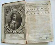1784 Captain James Cook Voyages Around The World 150 Engravings Antique Travel