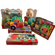 Cocomelon Jj Doll, Doctor Check Up Set, Keyboard Toy, Musical Tractor And Lunchbox