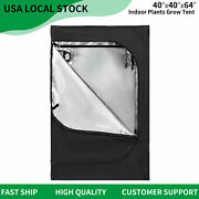 40and039and039x40and039and039x60and039and039 Indoor Grow Tent Reflective Mylar Hydroponic Plant Room Box 4x4ft