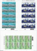 Portugal Azores Madeira Europa 3 Mnh Mini Sheets 2021 - Endangered Species