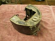 Oem 1958-and03964 Panhead Oil Tank Original Paint Primary Mount Still Intact
