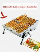 Portable Stainless Steel Barbecue Grill Charcoal Grill For Bbq Cooking Kit