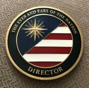Director Cia Challenge Coin Full-color Enamel Central Intelligence Agency