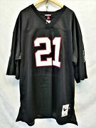 Deon Sanders 21 Falcons Mitchell And Ness 1990 Nfl Throwback Jersey Size 5xl Nwt