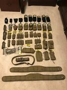 High Speed Gear Bundle Assortment Of Duty Belts Molle Utility And Ammo Pouches