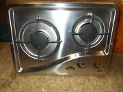 Capital 1204ss 2 Burner Drop-in Cooktop Stainless Steel Rv Free Ship 40