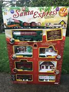 Santa Express Train Set Christmas From Eztec 41 Pieces Battery Operated