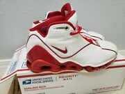 Vtg Authentic 02and039 Nike Shox Vc 2 Vince Carter White Silver Red 3 305078-161 10