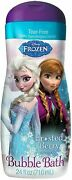 Disney Frozen Bubble Bath Frosted Berry Scent 24 Oz Pack Of 4