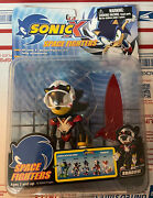 Sonic X Space Fighters Shadow Action Figure Rare Toy Island Toys R Us New Box