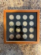 Pandd Presidential Dollar 16 Coin Set Uncirculated Encapsulated Mint State 1
