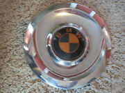 Vintage Chrome Wheel Cover Hub Cap For Bmw Old Stock