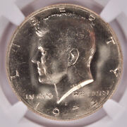 Ngc 50c 1974-d Kennedy Half Double-struck Rotated In-collar Ms65