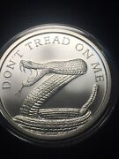 2014 Silver Shield Dont Tread On Me 5 Troy Ounce Silver