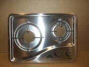 Capital One 2 Burner Rv Cooktop Replacement W/ Grates Ss Top Rv Free Ship