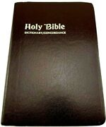 Holy Bible Red Letter Edition King James Version World Dictionary/concordance