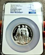 2020 5oz The Three Graces Pf70 Ultra Cameo First Releases Label