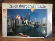 Ravensburger New York City 5000 Puzzle Pieces Twin Towers World Trade Center New