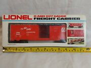 Vintage Lionel 0 And 027 Gauge Freight Carrier