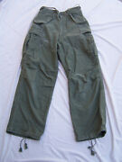 Us Army Military Vietnam War Cold Weather Pants Size X-small Regular