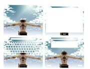 Dazzle Laptop Protector Leather Skin Stickers For Acer Spin5-sp513-54n