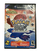Pokemon Box Ruby And Sapphire Gamecube Disc W/case, Manual, Memory Card, And Cable