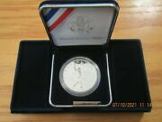2006 Us Mint Proof Silver Dollar Coin Benjamin Franklin Bn1 Sleeve Box And Coa