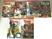 Mighty Thor Lot From 330-382 In 5 Tpb +1 Comic