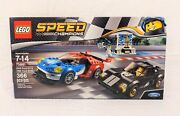 Lego Speed Champions 2016 Ford Gt And 1966 Ford Gt40 75881 New In Box