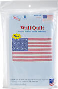 Jack Dempsey Stamped White Wall Or Lap Quilt 36x36-u.s.a. - 2 Pack